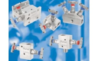 Two Valve Manifolds (H Series) <br />Catalog 4190-PM <br />June 2002