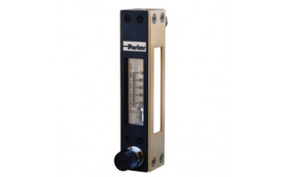 Glass Tube Variable Area Flow Meter Parker P260 Series