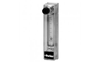 Glass Tube Variable Area Flow Meter Parker P430 Series